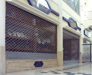 Serrande centri commerciali Como